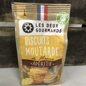 Biscuits a la moutarde de Meaux