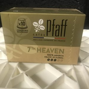 Capsules de café Pfaff 7th Heaven