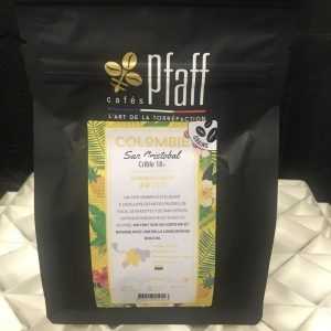 Café Pfaff Colombie San Cristobal en grains